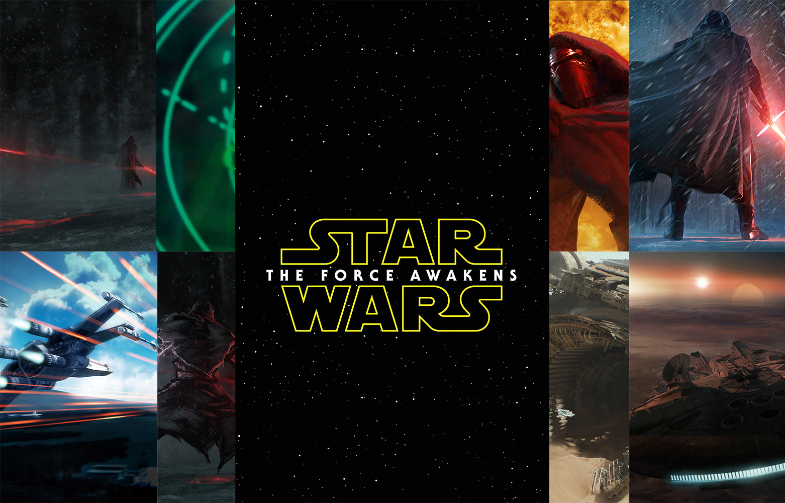 Star Wars The Force Awakens Phone Wallpapers